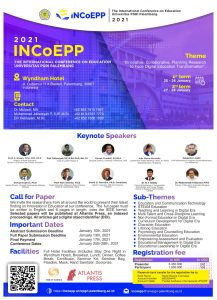 The International Conference on Education Universitas PGRI Palembang