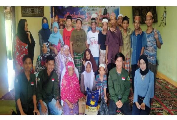 HMPS Bimbingan Konseling Melakukan Bakti Sosial, Universitas Pgri Palembang