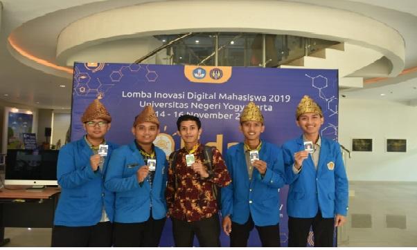 Mahasiswa UPGRI Ikuti Lomba Inovasi Digital Mahasiswa Kemendikbud DIKTI 2019