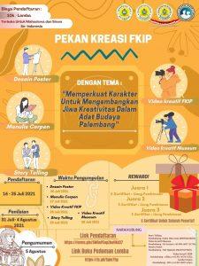 Pekan Kreasi Mahasiswa FKIP PGRI Palembang 2021