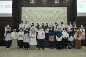 Rapat Dosen FKIP Pengampu Mata Kuliah Semester Ganjil T.A 2021/2022