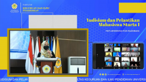 Perdana! FKIP Universitas PGRI Palembang Laksanakan Yudisium Virtual