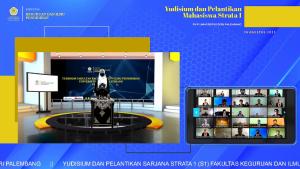 Yudisum Virtual Periode V FKIP Universitas PGRI Palembang