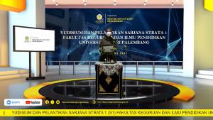 FKIP Universitas PGRI Palembang Selenggarakan Yudisium Virtual Periode VI